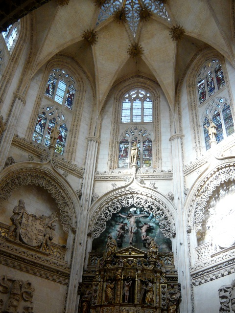 cathédrale de BURGOS -intérieurs