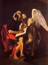saint matthieu et l'ange ( version originale perdue)
