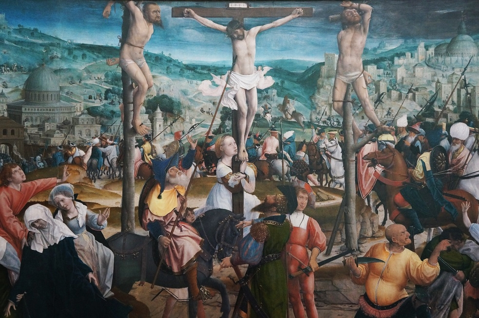 crucifixion - 1501 - 1505 Jan provost 1462 - 1529