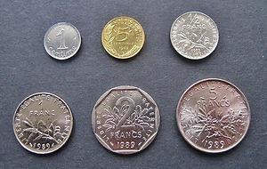 monnaie francs