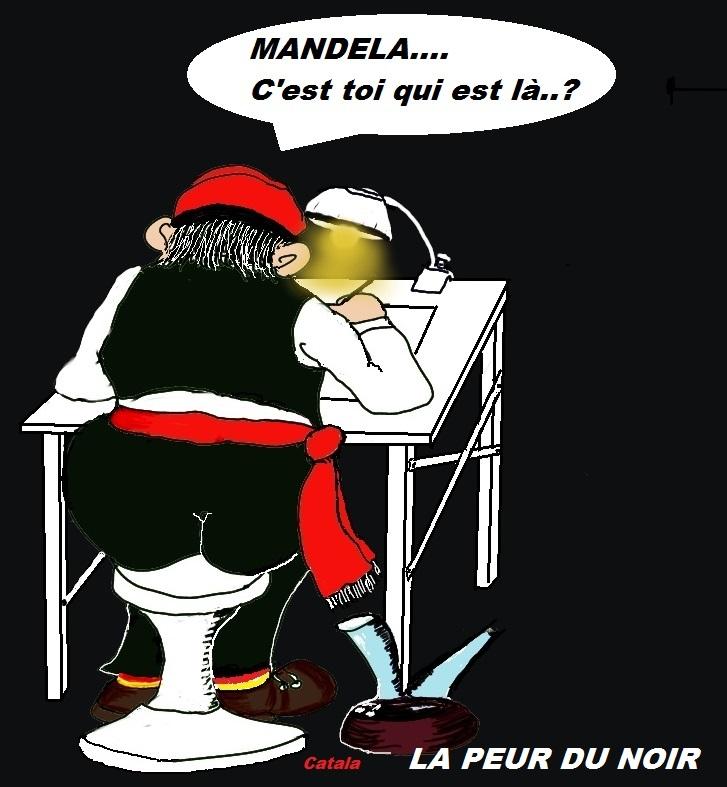 MANDELA - LA PEUR DU NOIR