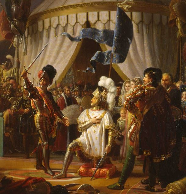 BAYARD adobe François I er à Marignan