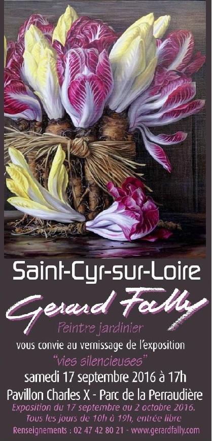 Gérard Fally Saint Cyr sur Loire 17 09 16 au 02 10 16
