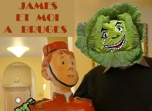 JAMES ET MOI A BRUGES