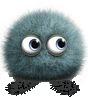 bouboule bleu